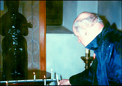 John Betjeman in Willesden