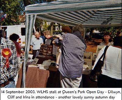 Queen's Park Day 2003
