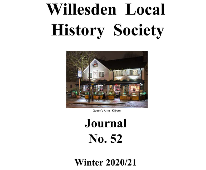 Willesden Local HIstory Society Journal