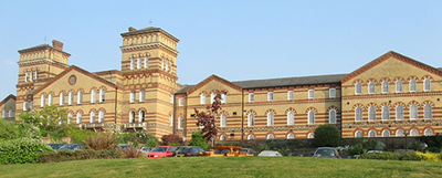 Sussex County Assylum at Heywards Heath: Cavendish House and Park East, Southdowns Park (Photo by Simon Carey commons.wikimedia.org)