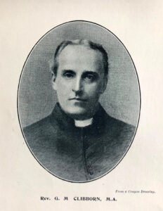 Rev. Clibborn, first vicar of St.Gabriel's