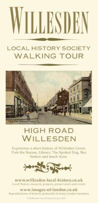 A Walking Tour Map of High Road, Willesden