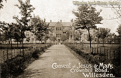 Convent of Jesus and Mary School, Harlesden, 1908