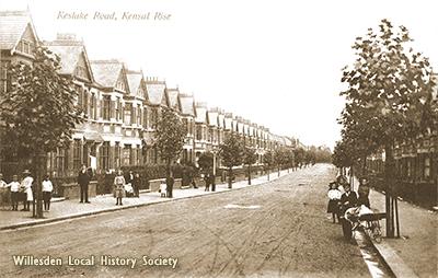 Keslake Road, Queen's Park, 1907