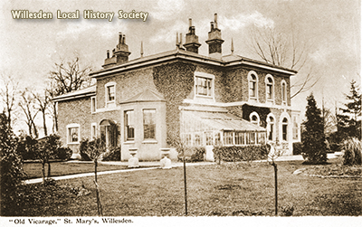 St. Mary's Vicarage c.1910