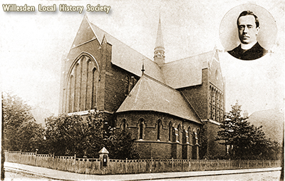 St.Andrew's Church, High Road, Willesden c1910