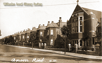 Anson Road, Cricklewood, c.1910