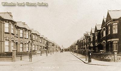 Olive Road, Cricklewood 1909