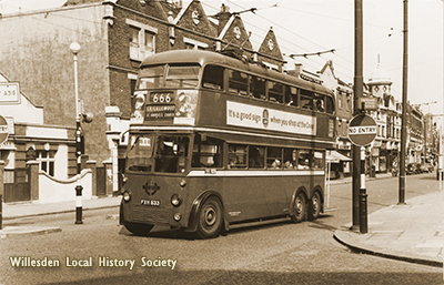 Cricklewood Bus, c.1910