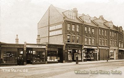 The Parade, Neasden, 1911