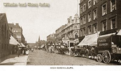 Kilburn High Road, c1910