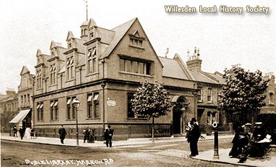Queen's Park Library, Harrow Road