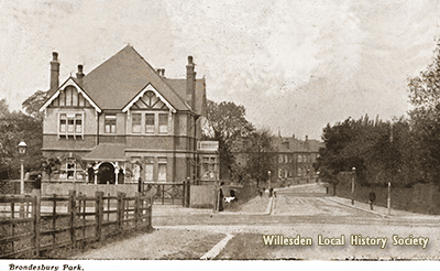 Brondesbury Park, c.1916