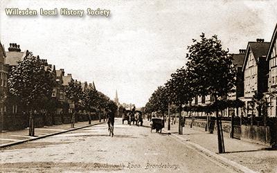 Dartmouth Road, Mapesbury, 1906