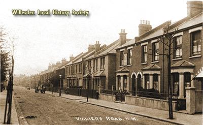 Villiers Road c.1910