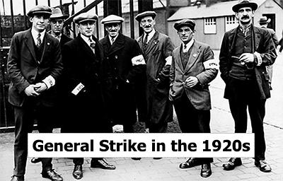 1920s General Strike in Willesden