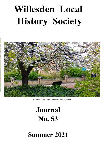 Willesden Local HIstory Society Journal 53